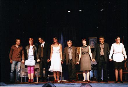 Salut final de  JE VIENDRAI COMME UN VOLEUR  JUIN 2008