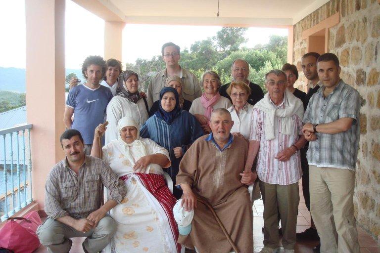 toute la famille BAKKALI en mai 2008