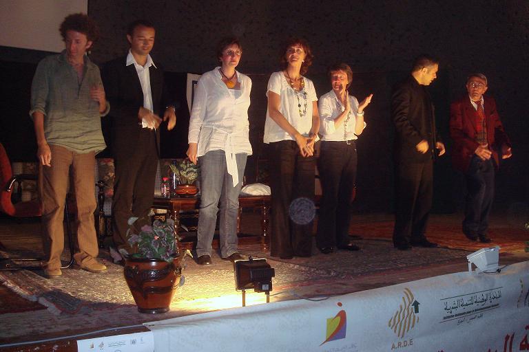finale de QUELLE FAMILLE à TANGER le 2 0 Mai 2008